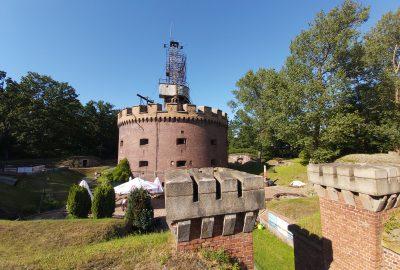 Fort Anioła. Rzym w Świnoujściu.