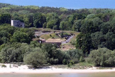 Zwiedzamy Fort Zachodni na wyspie Uznam